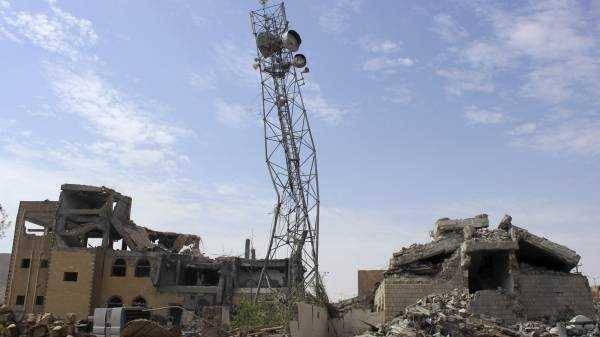 صنعاء: قصف جوي يستهدف أبراج الاتصالات في &#34نهم&#34