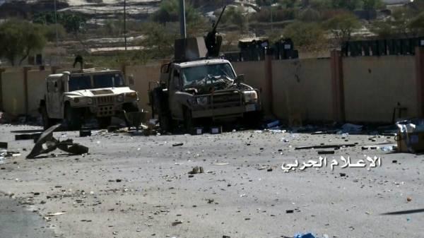 معارك خاضتها القوات اليمنية ضد محاولات سعودية استعادة معسكر &#34ملحمة&#34 بالخوبة