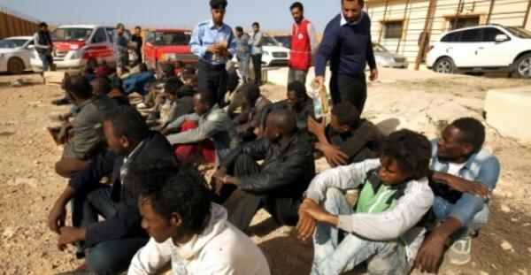 تقرير أممي: الاتجار بالبشر في ليبيا آخذ بالازدياد وتواطؤ محتمل لقوات الأمن