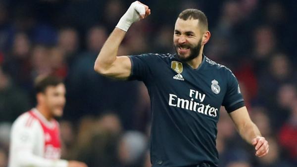 بنزيمة يقود ريال مدريد للفوز على أجاكس وزياش الساحر يؤكد تألقه المبهر