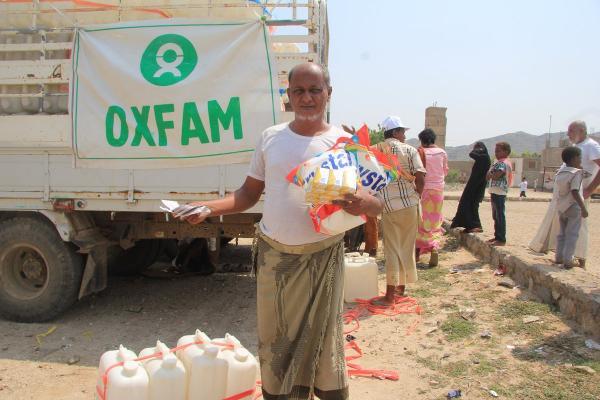 علاقة منظمة &#34أوكسفام&#34 سيئة السمعة مع الحوثيين