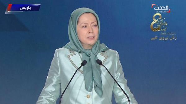زعيمة المعارضة الإيرانية: النساء الحلقة الرئيسة لإشعال الانتفاضات في إيران