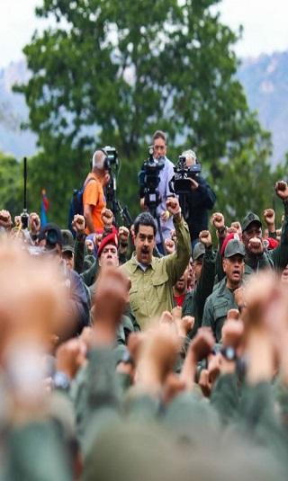 ترامب يحذر الجيش الفنزويلي: إما دعم خوان غوايدو وإلا &#34خسارة كل شيء&#34