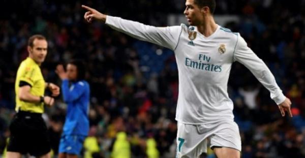 فوز مهم لريال مدريد على خيتافي والهدف 300 لرونالدو