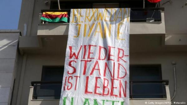 اقتحام قنصلية ألمانية في اليونان احتجاجاً على عملية عفرين