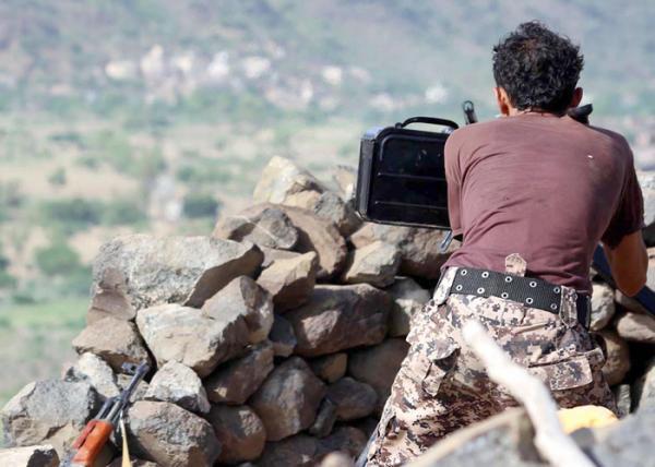 القوات الحكومية تحرر مواقع بمحافظة لحج