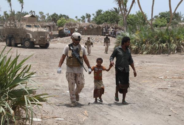 تصعيد واسع لمليشيا الحوثي في الحديدة وضحايا مدنيون