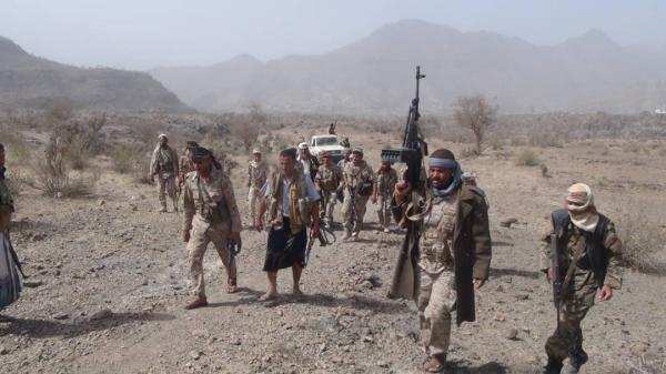 تفاصيل مقتل وأسر 40 حوثياً خلال فتح مليشيا الحوثي جبهة جديدة في قعطبة والعود بالضالع