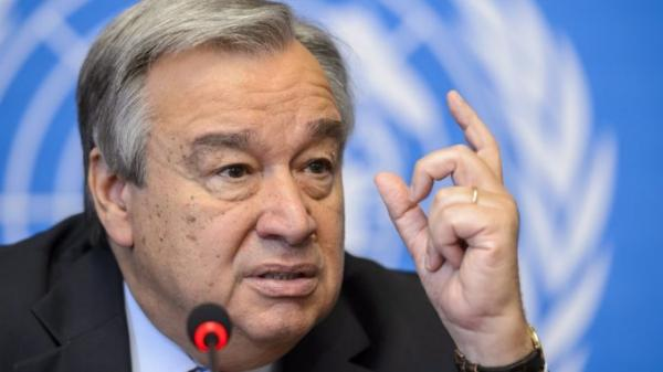 الأمين العام للأمم المتحدة يدين الهجمات الصاروخية الحوثية على السعودية