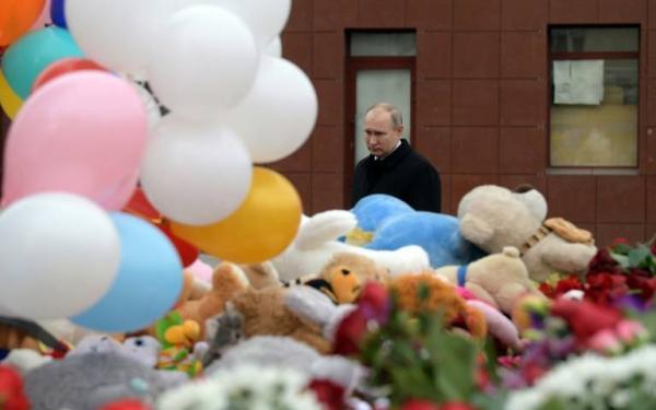 تصاعد الغضب في روسيا عقب مقتل 41 طفلا في حريق مركز تجاري