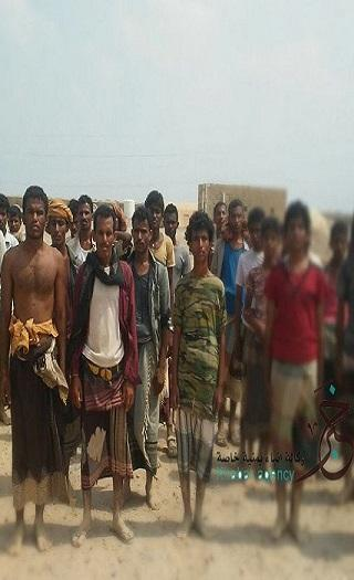 المئات من أبناء الساحل الغربي يصلون معسكر المقاومة الوطنية بعدن