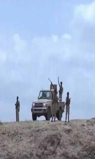ألوية &#34حراس الجمهورية&#34 تطهر مواقع استراتيجية غربي تعز