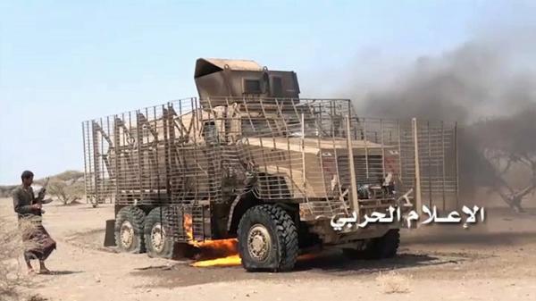 هجوم على معسكر خالد يكلف المرتزقة مدرعات عسكرية ومواقع