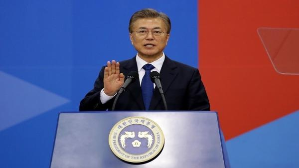 رئيس كوريا الجنوبية المنتخب يؤدي القسم ويبدي استعداده لزيارة بيونغ يانغ