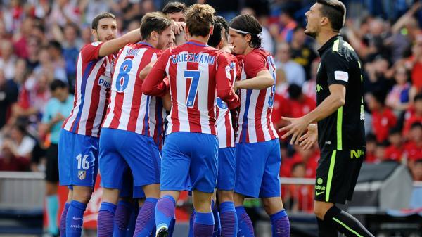 أتليتيكو مدريد يهزم خيتافي ويضمن المركز الثاني