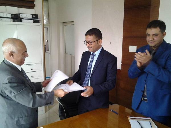 توقيع أول مذكرة لدعم المشروع الوطني لتمويل ابتكارات المخترعين اليمنيين