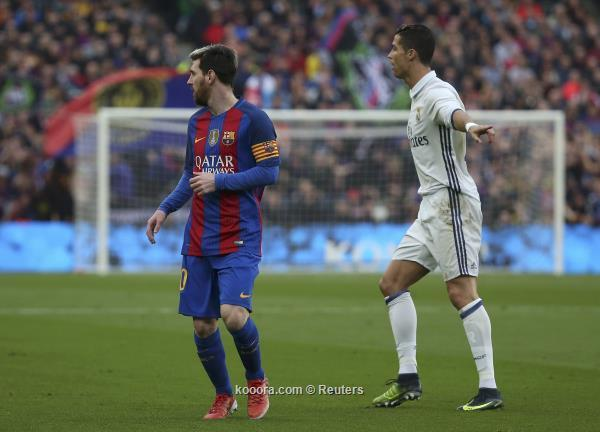 ميسي وكريستيانو رونالدو ضمن قائمة الأكثر نفوذا في عالم كرة القدم
