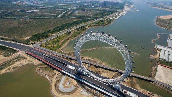الصين بصدد افتتاح &#34دولاب هواء&#34 فريد من نوعه بشبكة واي فاي (صور)
