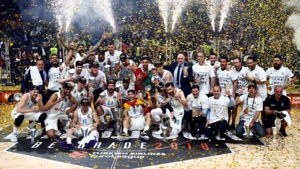 ريال مدريد يحرز لقبه العاشر في بطولة اوروبا للسلة بفوزه على فناربخشه