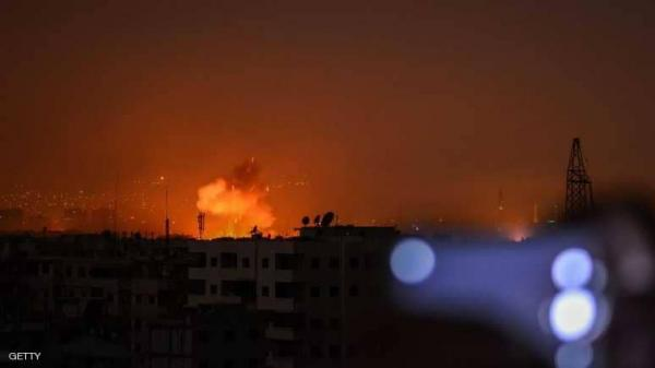 انفجارات قوية بغرفة عمليات إيرانية جنوبي العاصمة السورية
