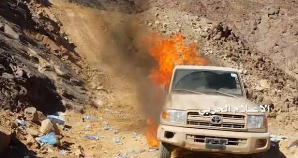 انفجارات تهز مقر قيادة قوات المرتزقة بمأرب