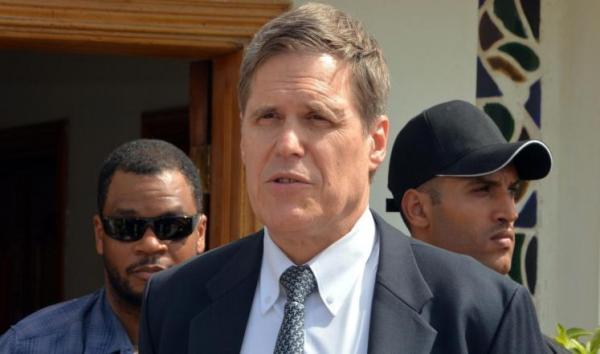 السفير الأمريكي يبعث برقية عزاء للسفير أحمد علي عبدالله صالح