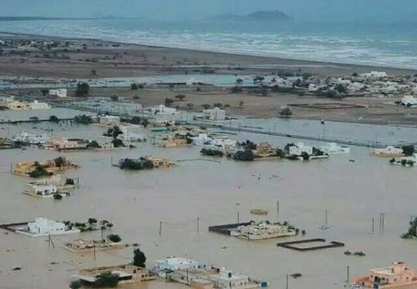 ماكونو يخلف دمارا كبيرا في ارخبيل سقطرى (صور + فيديو)