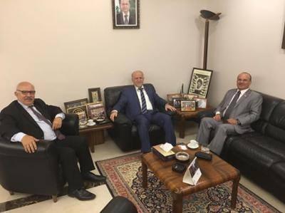 يحيى صالح يلتقي قيادات الحزب الشيوعي اللبناني وحركة أمل