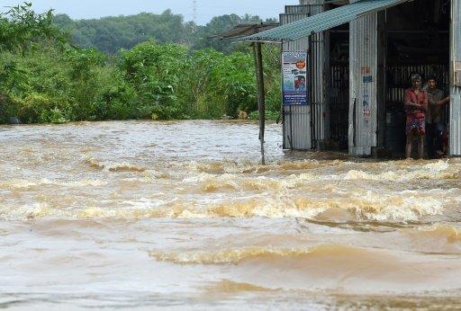 مصرع 122 شخصا على الاقل في فيضانات سريلانكا