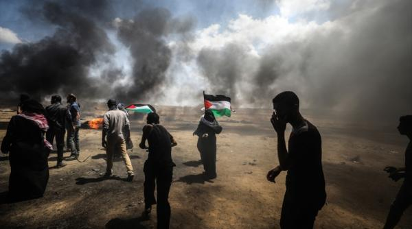 قتلى ومئات الجرحى برصاص الجيش الإسرائيلي في &#34مسيرات العودة وكسر الحصار&#34