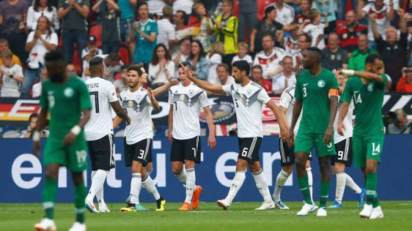 المانيا تلحق بالسعودية خسارتها الرابعة استعدادا لكأس العالم