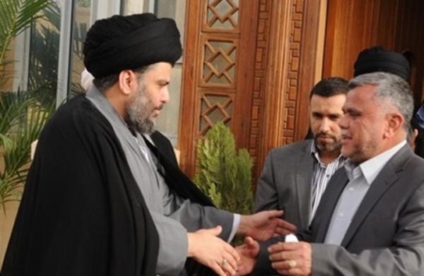 التلفزيون العراقي: الصدر والعامري يعلنان تحالفا سياسيا