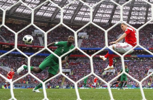 خسارة ثقيلة للسعودية بخماسية أمام روسيا في افتتاح كأس العالم
