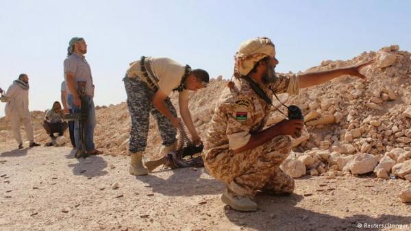 مقتل عشرة من قوات حكومة الوفاق في تفجير غرب سرت