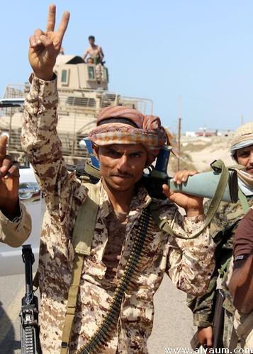 صعدة.. القوات الحكومية تسيطر على الخط الدولي الرابط بين مران والملاحيظ