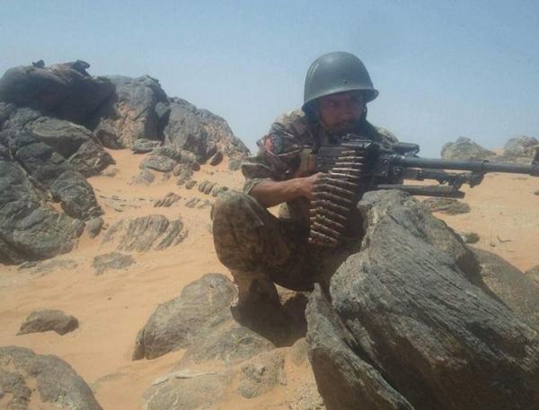 هجوم عكسي للجيش يوقع قتلى وجرحى في صفوف المرتزقة بالجوف