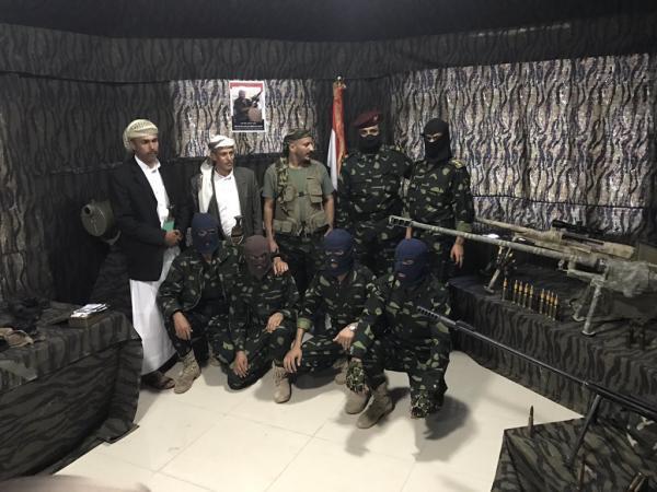 بالفيديو: العميد طارق صالح يفتتح صالة المجد للقناصين باسم الشهيد &#34حاتم&#34