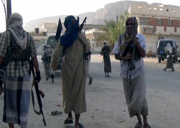 العثور على الجندي المخطوف من قبل مقاتلي القاعدة بحضرموت مقتولاً