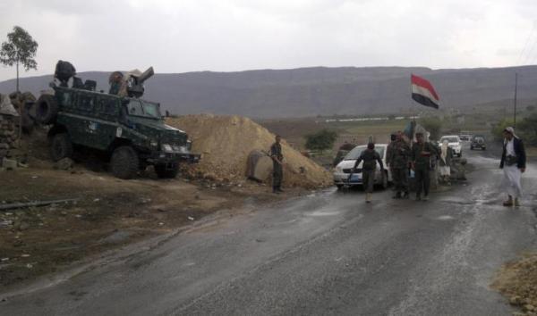 مقتل وإصابة 9 جنود بهجوم مسلح على نقطة بشبوة (الاسماء)