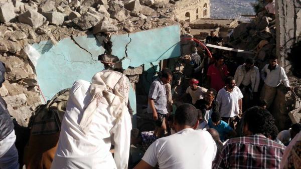 المؤتمر يدين مذبحة العدوان السعودي غرب اليمن
