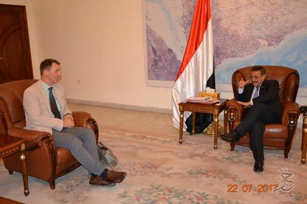 وزير الخارجية: استمرار إغلاق مطار صنعاء يعيق الجهد الإغاثي الدولي في اليمن