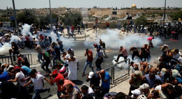 مواجهات جديدة في القدس الشرقية واجتماع عاجل لمجلس الأمن الإثنين