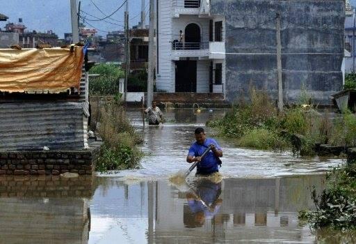 33 قتيلا وحوالى عشرين مفقودا في فيضانات في النيبال