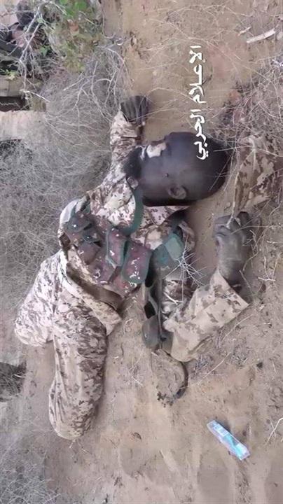 محرقة للمرتزقة بينهم سودانيون شمال اليمن