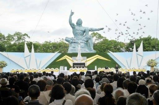 ناغازاكي تدعو اليابان بعد 72 عاما الى توقيع معاهدة ضد استخدام السلاح الذري