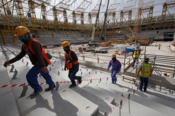 التلغراف تكشف &#34معاناة&#34 عمال المونديال في قطر