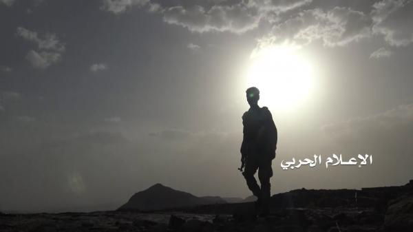 هجوم على مواقع المرتزقة في نهم بالتزامن مع صد تسلل
