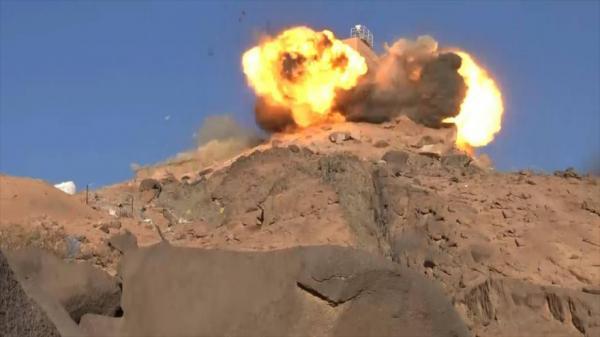 احراق مخزن اسلحة بجبهة ماوراء الحدود.. والسعودية تعترف بمصرع 3 من جنودها