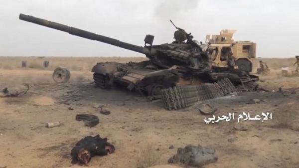 شبوة: تدمير دبابة في هجوم على مواقع المرتزقة بعسيلان