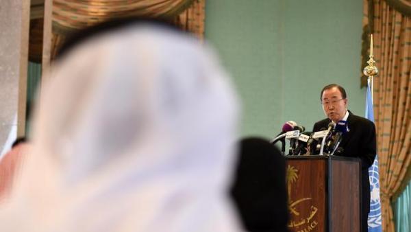 فورين بوليسي: بان &#34هدد&#34 السعودية بإعادتها وحلفائها إلى القائمة السوداء